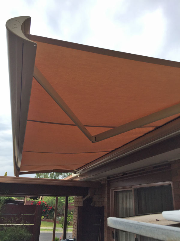 Folding Arm Awnings Robcam Blinds Melbourne Victoria
