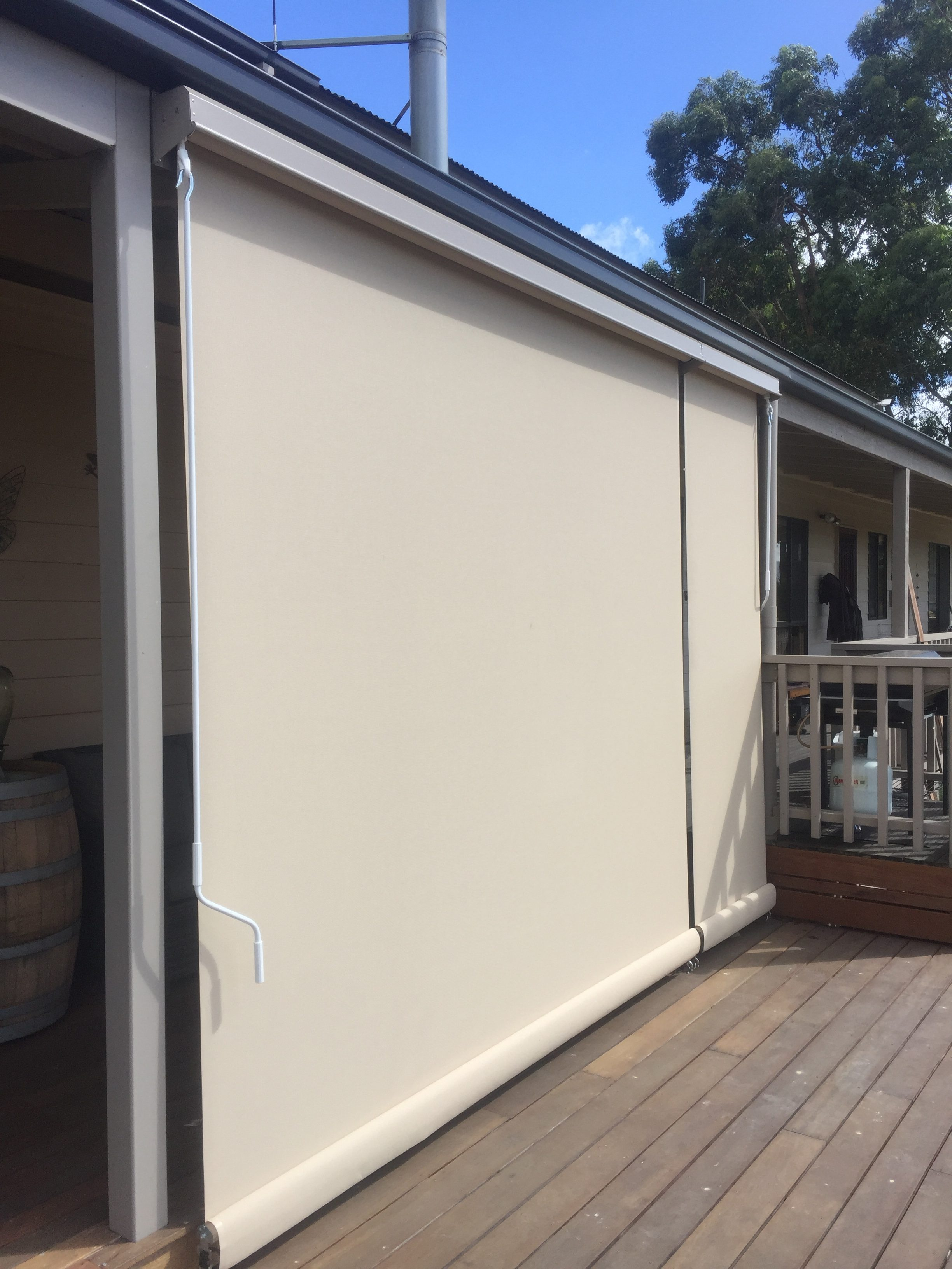 Straight Drop Awnings Robcam Blinds Melbourne S East